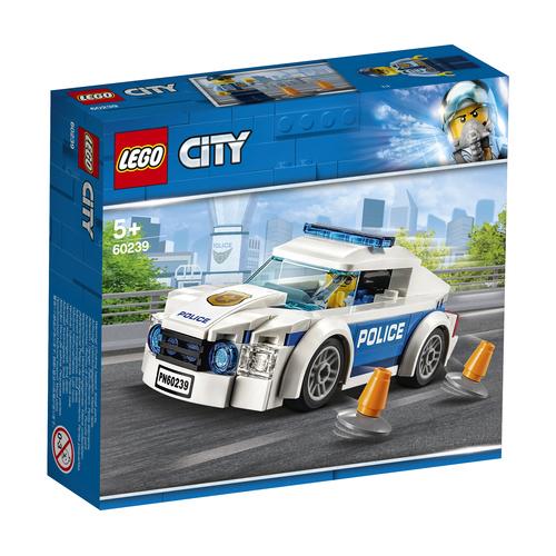 LEGO City Politiepatrouille auto - 60239