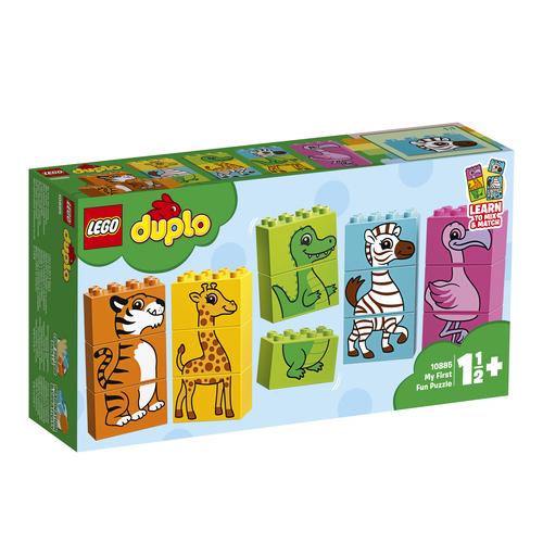 LEGO DUPLO Mijn eerste leuke puzzel - 10885