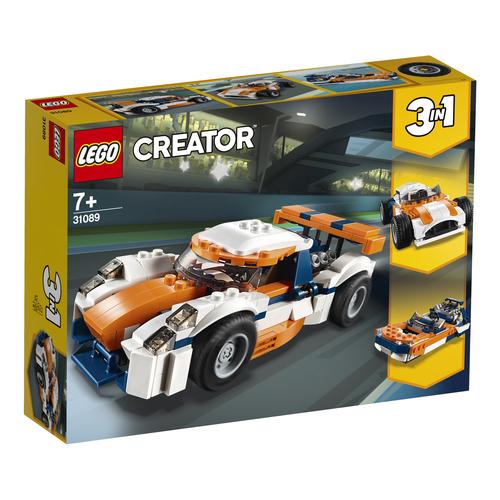 LEGO Creator Zonsondergang baanracer - 31089