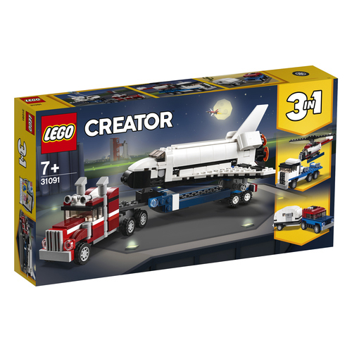 LEGO Creator Spaceshuttle transport - 31091