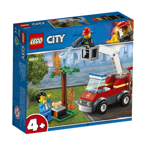 LEGO City Barbecuebrand blussen - 60212