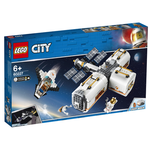 LEGO City Ruimtestation op de maan - 60227