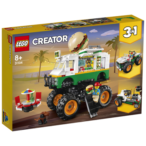 LEGO Creator Hamburger Monstertruck - 31104