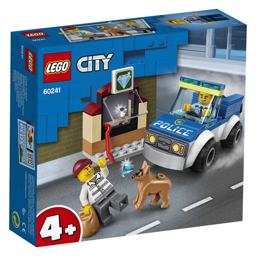LEGO City Politie hondenpatrouille - 60241