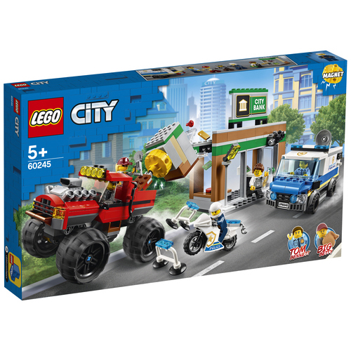 LEGO City Politiemonstertruck overval - 60245