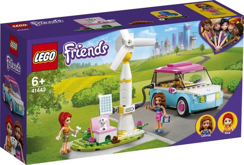LEGO Friends Olivia's elektrische auto - 41443
