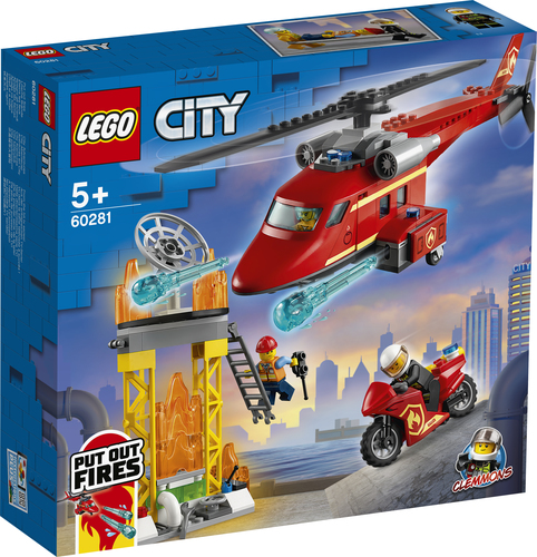 LEGO City Reddingshelikopter - 60281