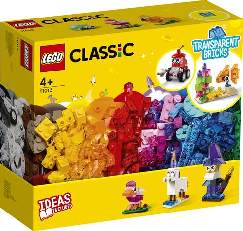 LEGO Classic Creatieve transparante stenen - 11013